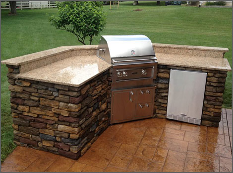 outdoor kitchen ideas - laslo custom kitchens