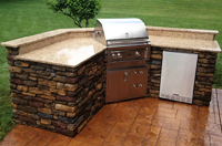 During Your Leisure - Enjoy Outdoor Kitchens and Fireplaces